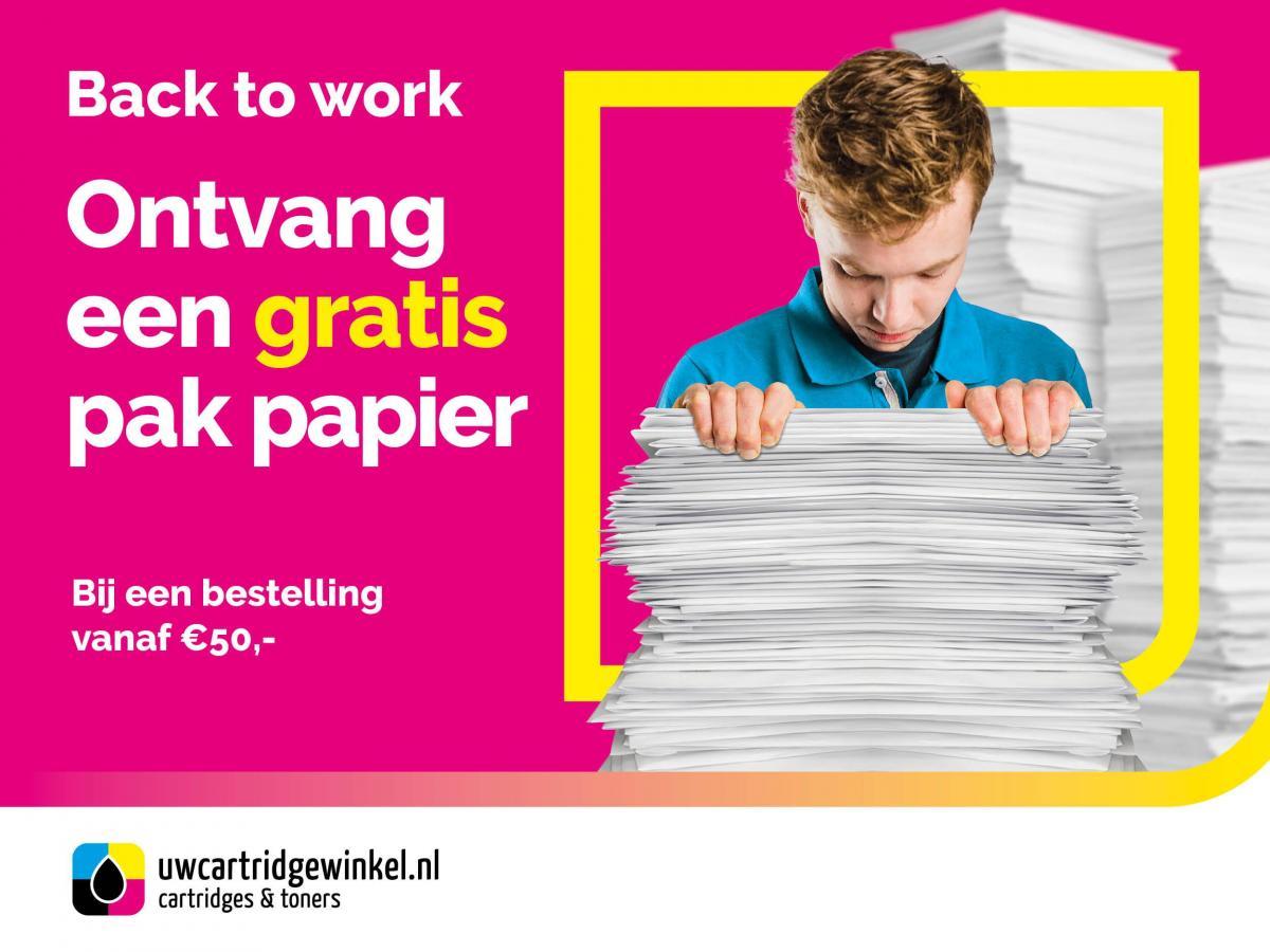 Gratis pak papier