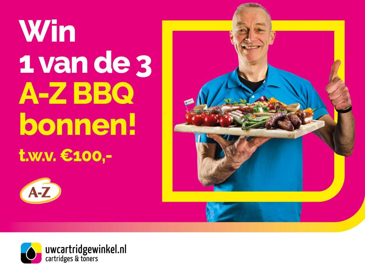 Win een BBQ bon - UwCartridgeWinkel.nl