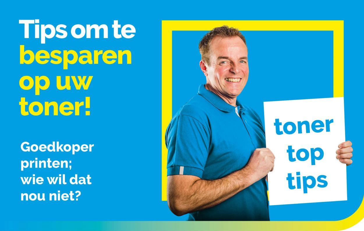 Bespaar op toner - UwCartridgeWinkel.nl