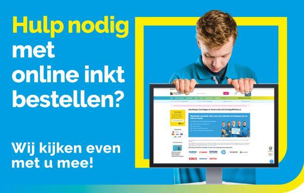 Inkt online bestellen - UwCartridgeWinkel.nl