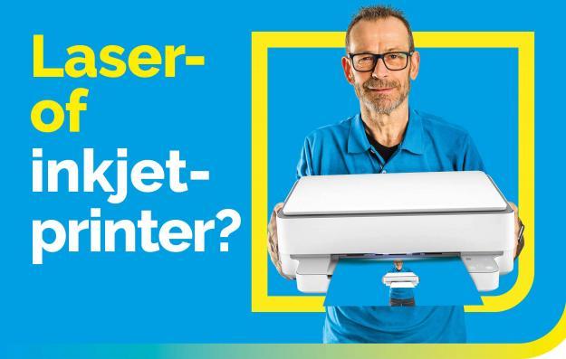Laserprinter of inkjetprinter? Welke printer is voor u het goedkoopst?