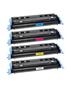Huismerk HP 124A (Q6000A-Q6003A) multipack (zwart + 3 kleuren)