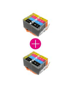 2 x Huismerk HP 364XL multipack incl. chip