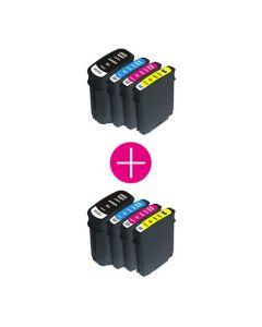 2 x Huismerk HP 940XL multipack incl. chip