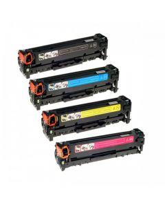 Huismerk HP 305 (CE410X-CE413A) multipack zwart + 3 kleuren