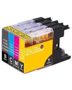 Huismerk Brother LC-1280 XL multipack (zwart + 3 kleuren)