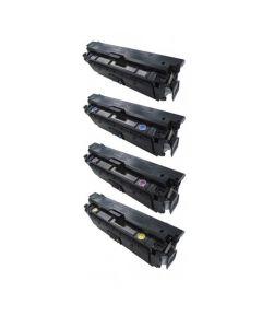 Huismerk HP 508A (CF360A-CF363A) multipack zwart + 3 kleuren