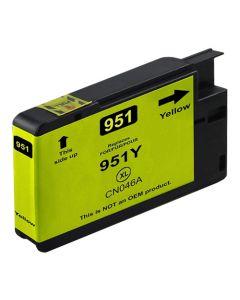 Huismerk HP 951XL geel incl. chip