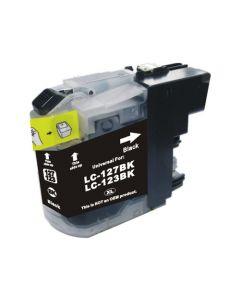 Huismerk Brother LC-123BK zwart incl. chip