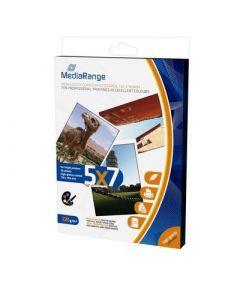 Fotopapier (13 x 18 cm) hoogglans - 220g - 50 vellen (MediaRange)