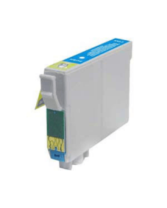 Huismerk Epson T0712 cyaan incl. chip