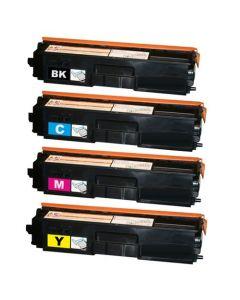 Huismerk Brother TN-325 multipack zwart + 3 kleuren