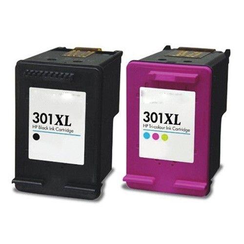 Huismerk HP 301XL zwart + kleur