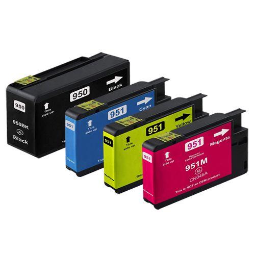 Huismerk HP 950XL + HP 951XL multipack (zwart + 3 kleuren)