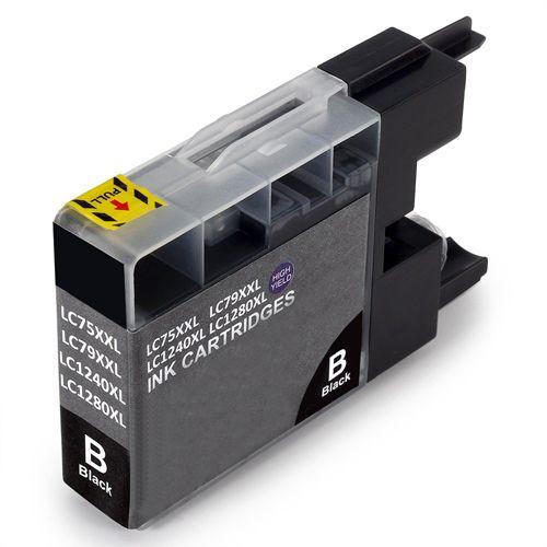 Huismerk Brother LC-1280BK XL zwart
