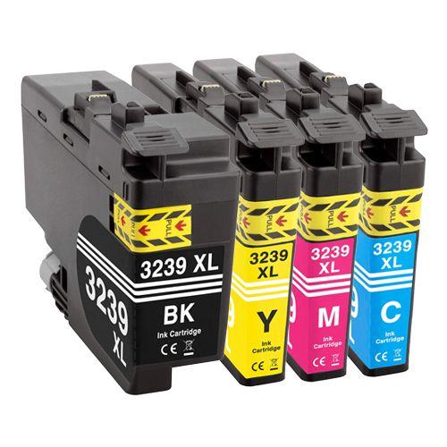 Huismerk Brother LC-3239XL multipack (zwart + 3 kleuren)