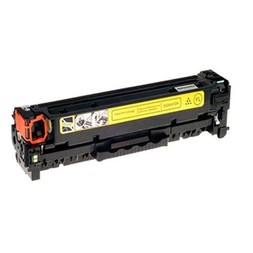 Huismerk HP 304A (CC532A) geel