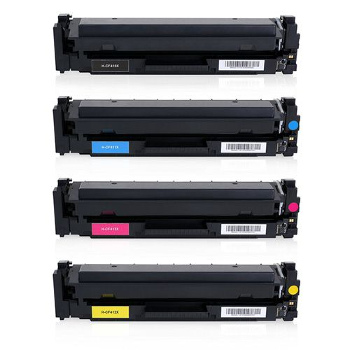 Huismerk HP 410X (CF410X-CF413X) multipack (zwart + 3 kleuren)