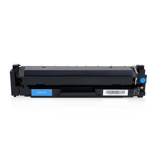 Huismerk HP 410X (CF411X) cyaan