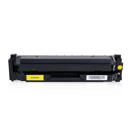 Huismerk HP 410X (CF412X) geel