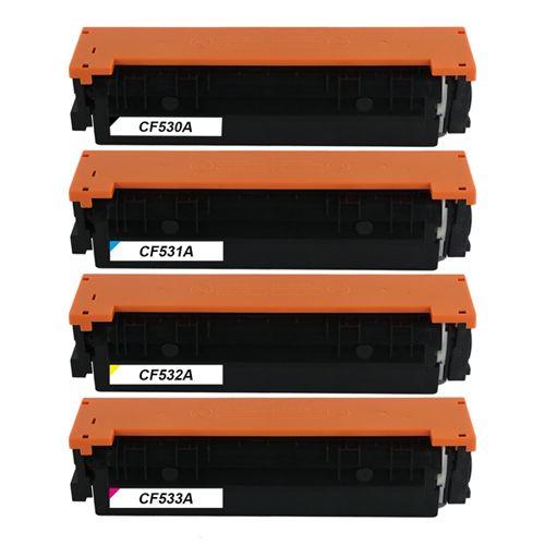 Huismerk HP 205A (CF530A-CF533A) multipack (zwart + 3 kleuren)