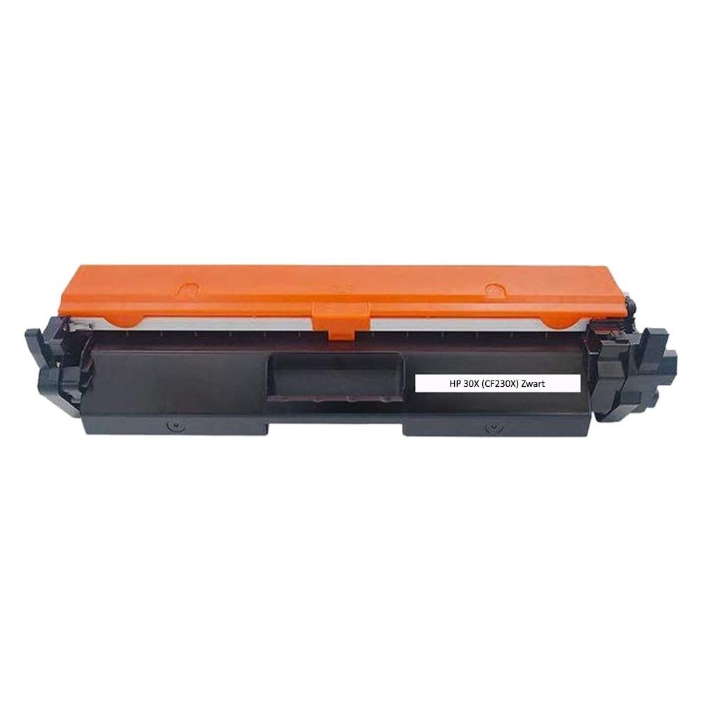 Huismerk HP 30X (CF230X) zwart