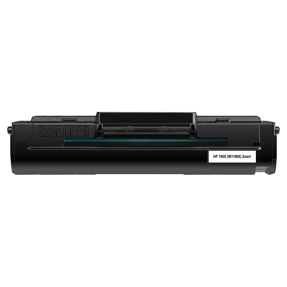 Huismerk HP 106X (W1106X) zwart