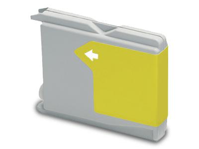 Huismerk Brother LC-1000Y geel