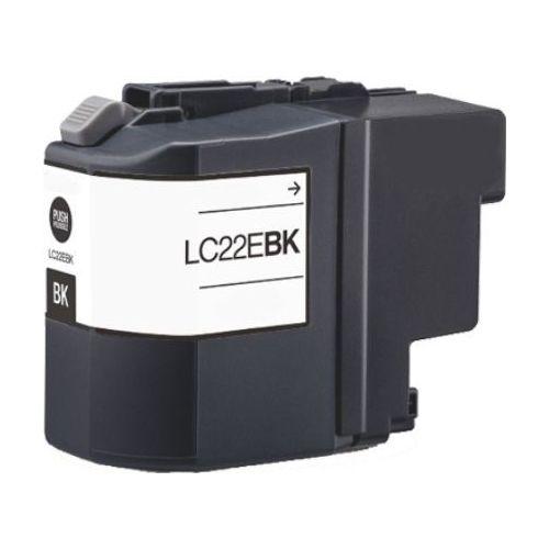 Huismerk Brother LC-22EBK zwart
