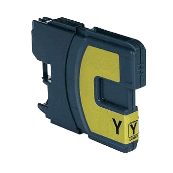 Huismerk Brother LC-980Y XL geel