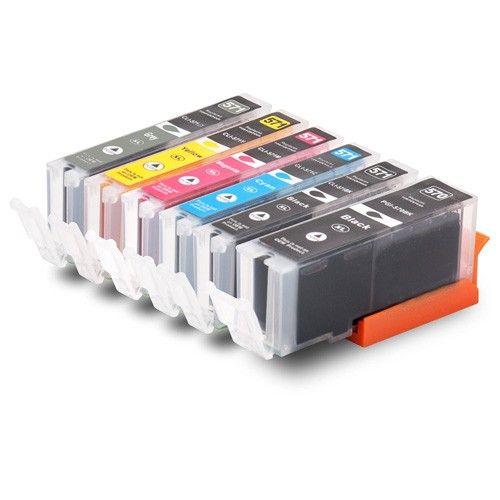 Huismerk Canon PGI-570 XL + CLI-571 XL multipack (2 x zwart + 3 kleuren) + grijs