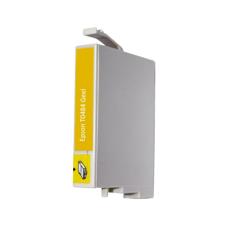 Huismerk Epson T0484 geel