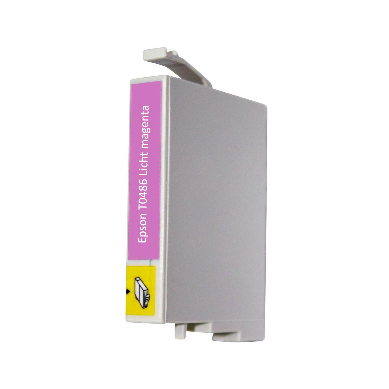 Huismerk Epson T0486 licht magenta