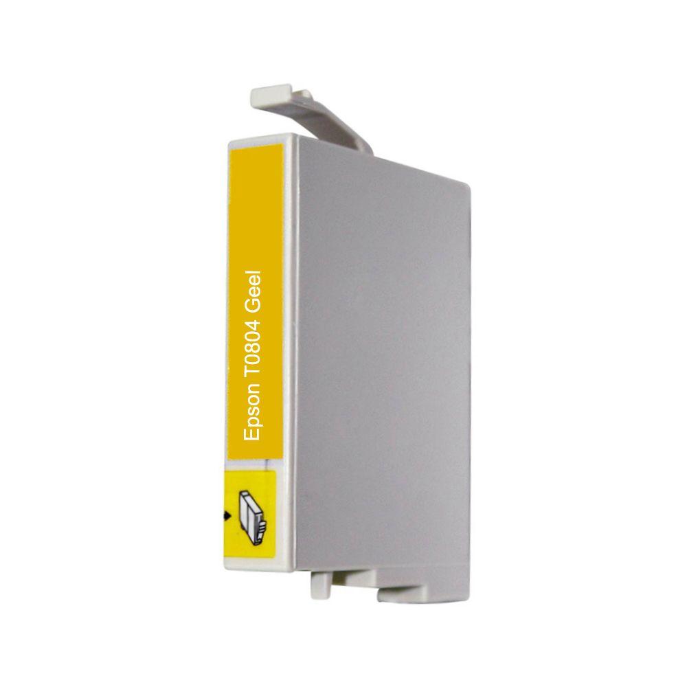 Huismerk Epson T0804 geel