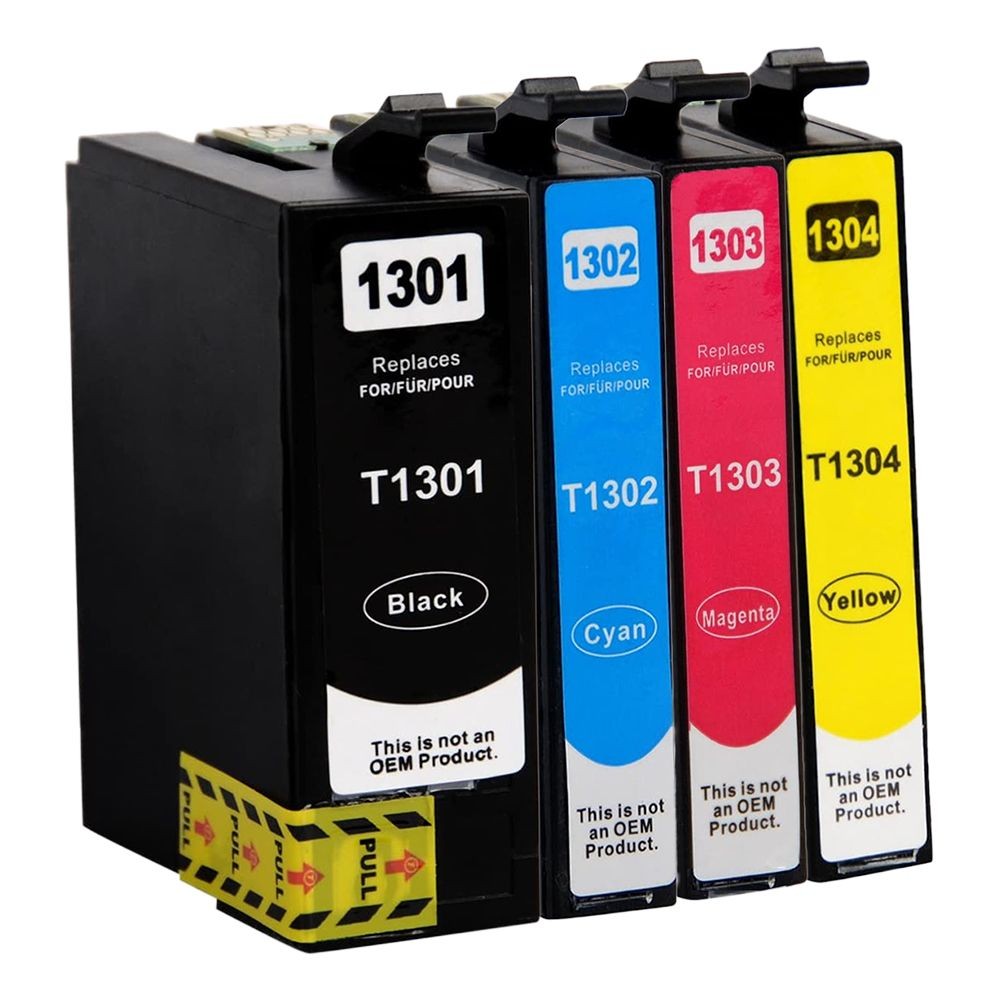 Huismerk Epson T1305 multipack (zwart + 3 kleuren)