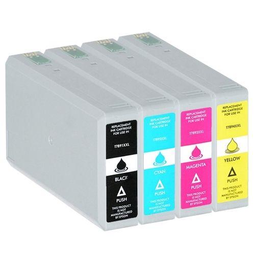 Huismerk Epson 78XXL (T7895) multipack (zwart + 3 kleuren)