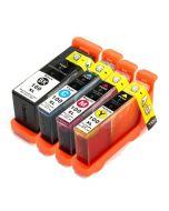 Huismerk Lexmark 100XL multipack zwart + 3 kleuren incl. chip