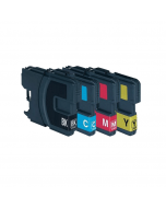 Huismerk Brother LC-1100 XL multipack (zwart + 3 kleuren)