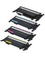 Huismerk Samsung CLT-P4072C multipack zwart + 3 kleuren