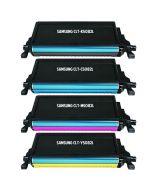 Huismerk Samsung CLT-K5082L multipack zwart + 3 kleuren