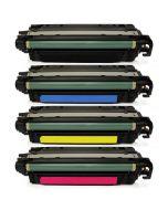 Huismerk HP 504X (CE250X-CE253A) multipack zwart + 3 kleuren