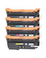 Huismerk HP 654X (CF330X-CF333A) multipack zwart + 3 kleuren