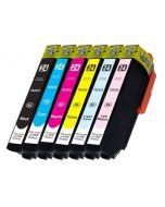 Huismerk Epson 24XL (T2438) multipack zwart + 5 kleuren incl. chip