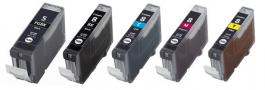 Huismerk Canon PGI-5 + CLI-8 multipack (2 x zwart + 3 kleuren)