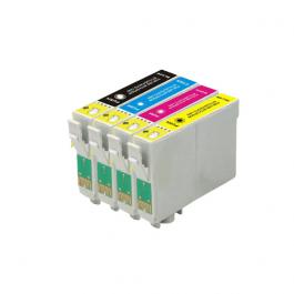 Huismerk Epson T1295 multipack zwart + 3 kleuren incl. chip