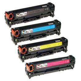 Huismerk HP 304A (CC530A-CC533A) multipack (zwart + 3 kleuren)