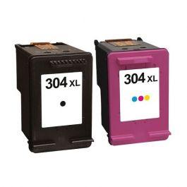 Huismerk HP 304XL zwart + kleur