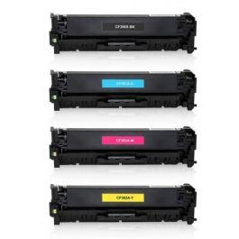 Huismerk HP 312A (CF380X-CF383A) multipack (zwart + 3 kleuren)