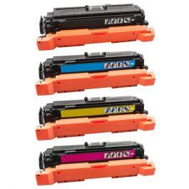 Huismerk HP 507X (CE400X-CE403A) multipack zwart + 3 kleuren