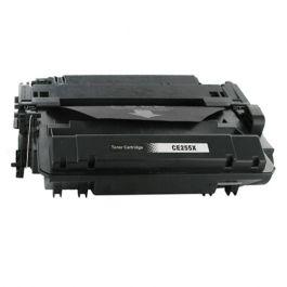 Huismerk HP 55X (CE255X) zwart